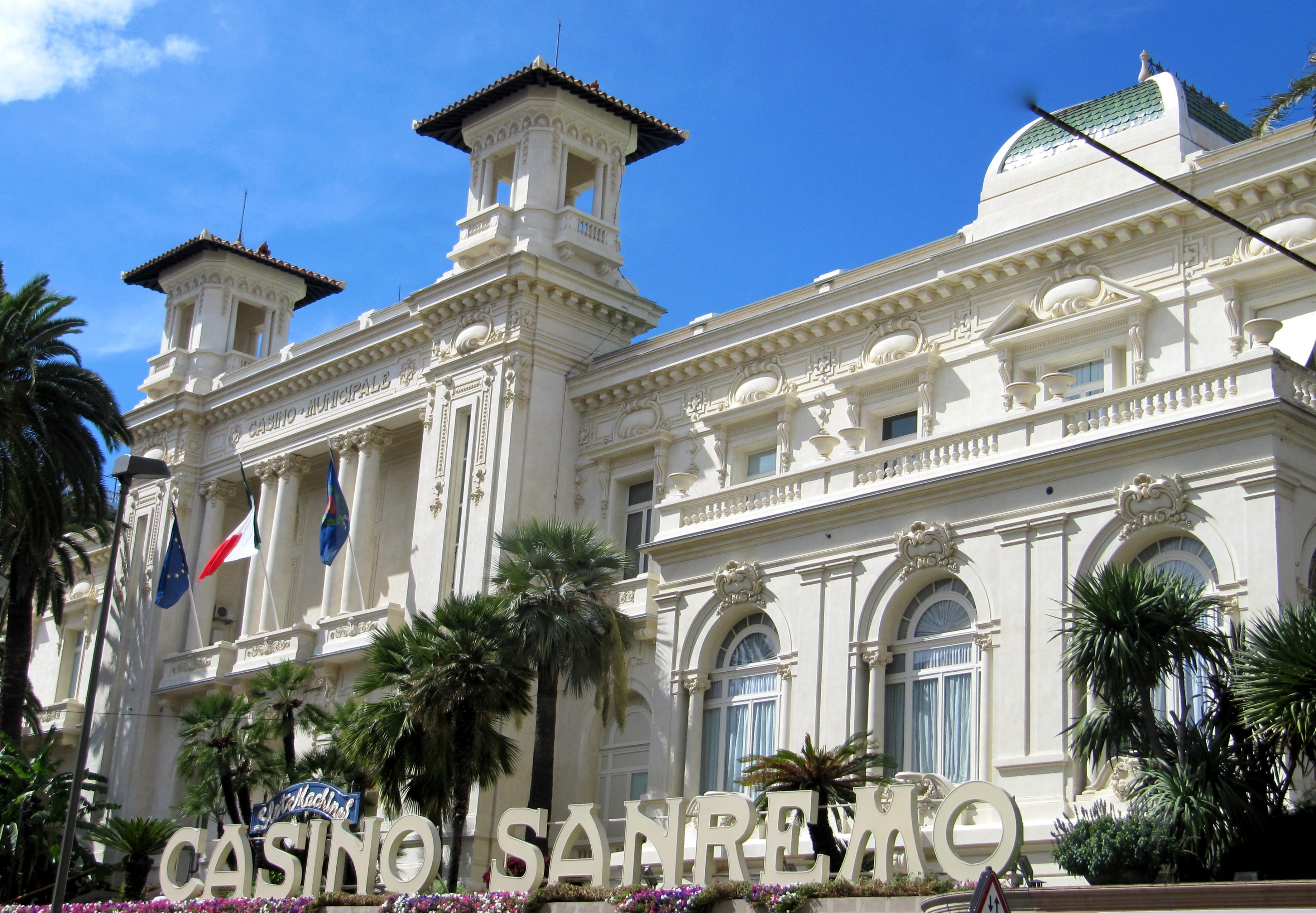 san remo casino italy
