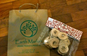 A healthy snack from Earth Market, Seminyak
