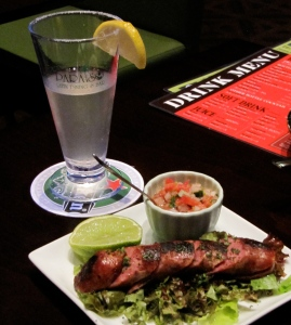Real margaritas, real chorizo. You'd never guess that Paraiso is in Japan