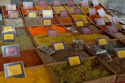 The spice market at the cathedral