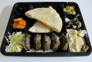 Israeli mezze in Tokyo. What would we do without King Falafel?