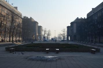 A Stalinist concept town: Nova Huta