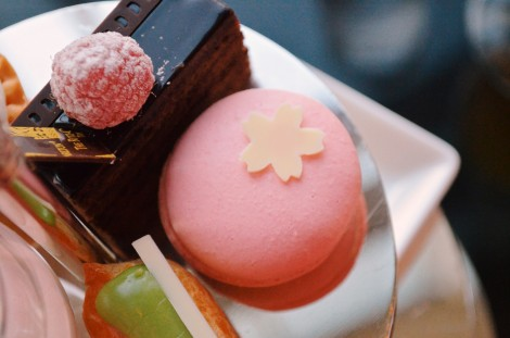 Seasonal delicacies at the Ritz Carlton