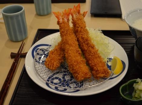 Tokyo's finest fried shrimp
