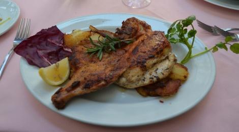 Menu highlight: Chicken Diablo