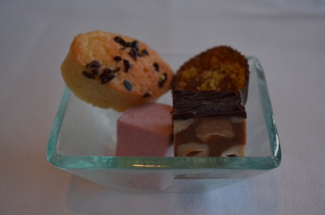 Just when you think it's all over, the petit fours are rolled out