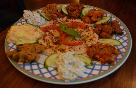 Delightful Turkish delicacies, but there must be more than Mezze and Kebabs in Istanbul...