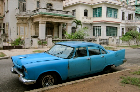"""It's still goes, so it's a good car"" - Raymond, Havana"