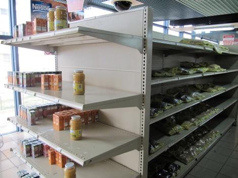 An upscale supermarket in Havana