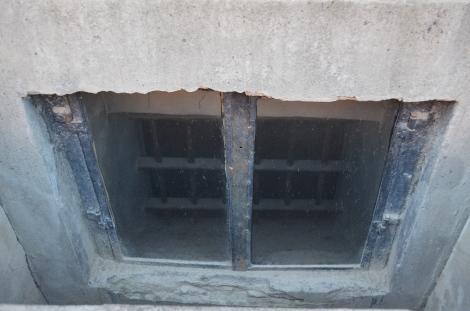 Underground bunker of Prisoner #16770, Maximilian Kolbe