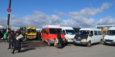 The bus station in Gori