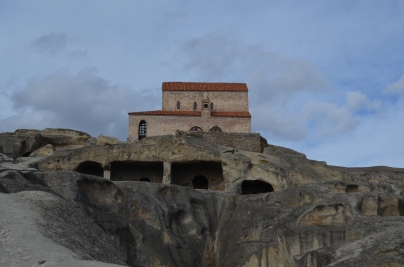 An ancient church built on top of an ancient Pagan temple.