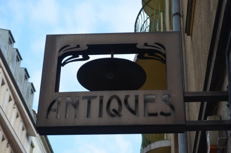 Antiques are everywhere in Hungary
